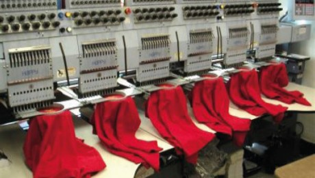 Embroidering Garments