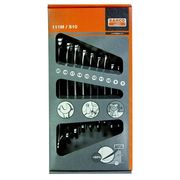 Bahco 10 Piece Metric Combination Spanner Set