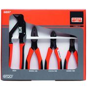 Bahco 4 Piece Plier Set