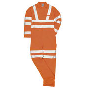 RT42 HiVis GO/RT Polycotton Boilersuit