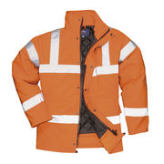 RT34 HiVis Breathable Jacket GO/RT