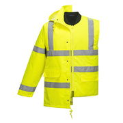 S468 HiVis 4-in-1 Traffic Jacket