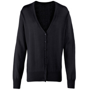 Ladies Button-Through Knitted Cardigan