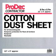 Contractor Cotton Twill Dust Sheets