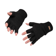 GL14 Fingerless Knit Insulatex Gloves