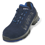 Uvex 1 Blue & Grey Perforated Shoe