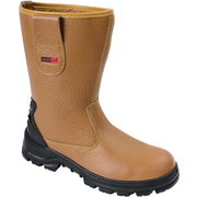 Tan Fur Lined Rigger Boot