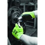 Matrix® Green PU Fingerless Gloves