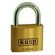Kasp Brass Padlock Keyed Alike - 125 Series