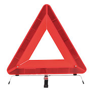 HV10 Folding Warning Triangle