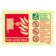 Hose Reel ID Sign