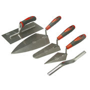 Faithfull Soft-Grip Trowel Set