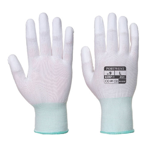 A121 PU Fingertip Gloves