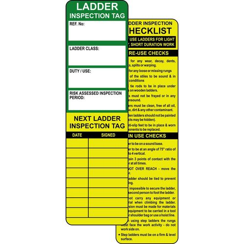 Ladder Safety Tagging System